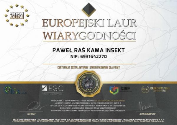 Europejski Laur Wiarygodności